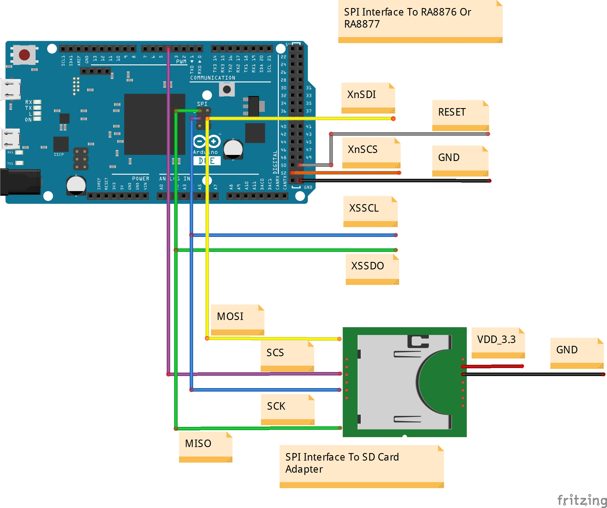 Welcome To Raio Technology Inc Tft Lcd Wiring Diagram Between Ra8876 Sd Card And Arduinodue
